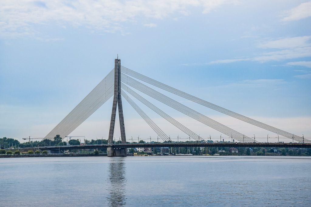 Zwiedzanie Łotwy
