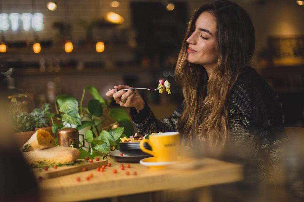 Pyszne jedzenie w restauracji
